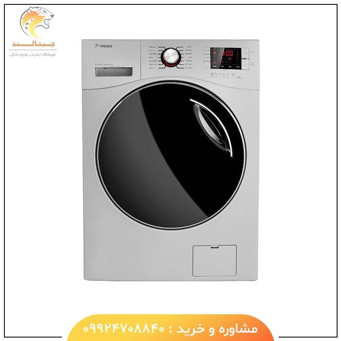 ماشین لباسشویی تیتانیوم درب از جلو 8 کیلویی اسنوا سری Octa SWM-84508 - چیتالند